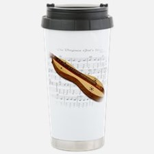 Mountain Dulcimer Travel Mug