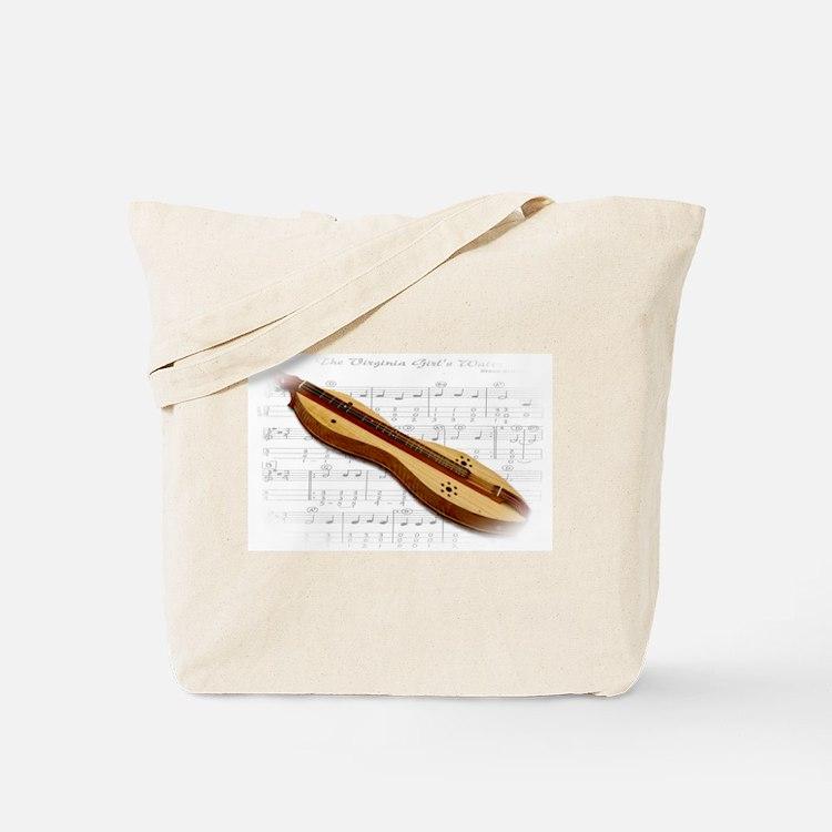 Mountain Dulcimer Tote Bag
