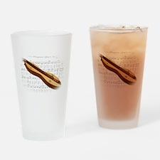 Mountain Dulcimer Drinking Glass