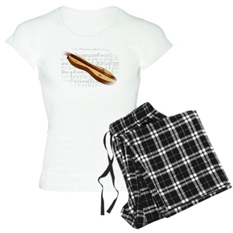 Mountain Dulcimer Women's Light Pajamas