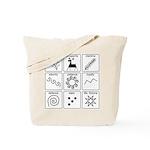 Pysanka Symbols Tote Bag