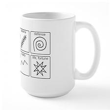 Pysanka Symbols Mug