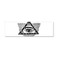 Cool Occult Car Magnet 10 x 3