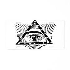Cute Occult Aluminum License Plate