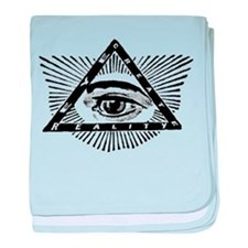 Cute Occult baby blanket