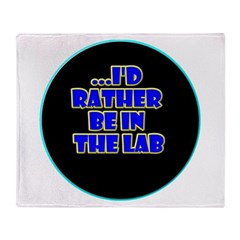 Back to the lab? Throw Blanket