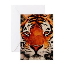 Unique Tiger Greeting Card