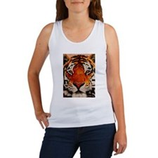 Cute Princeton tiger Women's Tank Top