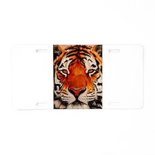 Unique Tigers Aluminum License Plate