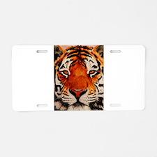 Cute Tigers Aluminum License Plate