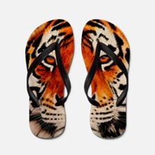 Cute Tiger Flip Flops