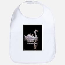 Cute Swans Bib
