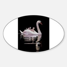 Cute Painting Sticker (Oval)