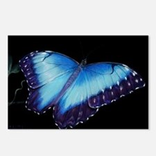 Cool Butterfly blue Postcards (Package of 8)