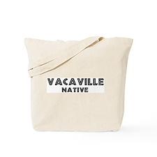 Vacaville Native Tote Bag