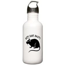 """""""Rats Have Rights"""" Water Bottle"""