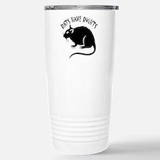 """""""Rats Have Rights"""" Travel Mug"""