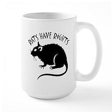"""""""Rats Have Rights"""" Mug"""