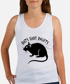 """""""Rats Have Rights"""" Women's Tank Top"""