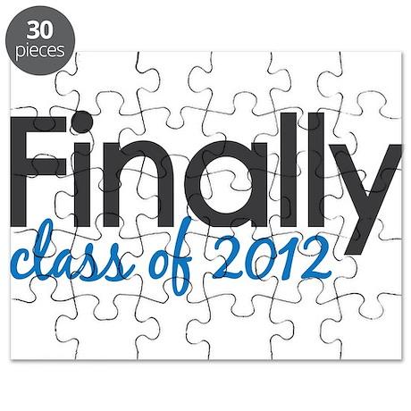 Finally Class of 2012 Grad Puzzle