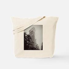 Vintage Flatiron Tote Bag