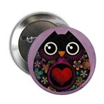 "Owl's Hatch 2.25"" Button"
