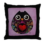 Owl's Hatch Throw Pillow