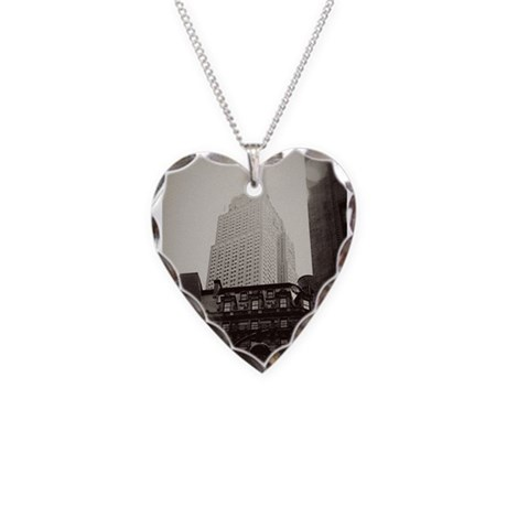 Empire Necklace Heart Charm