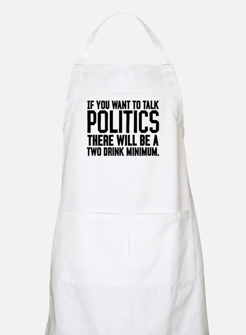 Two Drink Minimum Apron