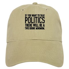 Two Drink Minimum Baseball Cap