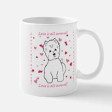 Funny Westie valentine Mug