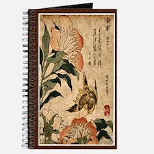 Bird Feeding on Flowers Journal