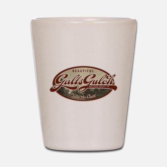 Galt's Gulch Shot Glass