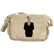 Anonymous Guy Fawkes Suit Messenger Bag