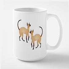 Twin Siamese Cats Mug
