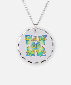 Class of 2012 Necklace Circle Charm
