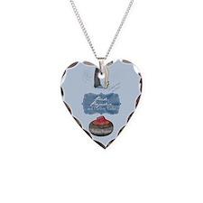 Cute Curling rocks Necklace