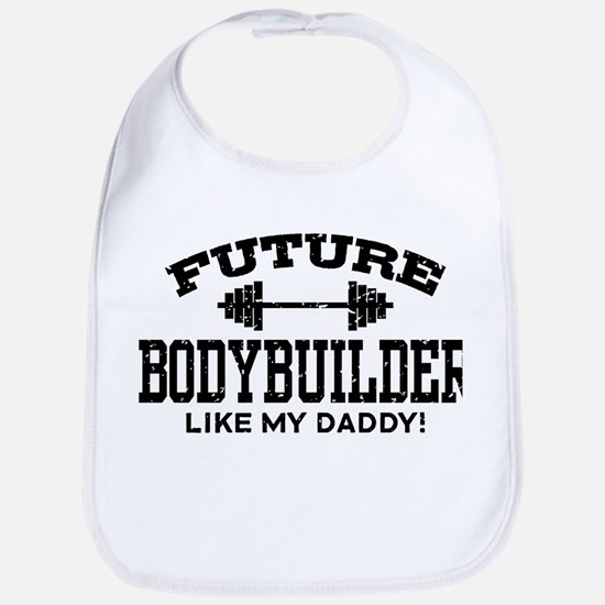 Future Bodybuilder Bib