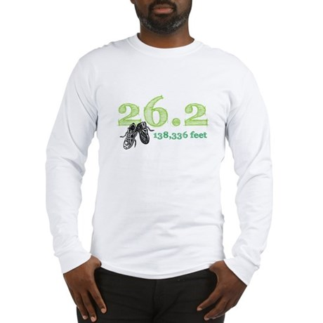 26.2 | 138,336 feet Long Sleeve T-Shirt
