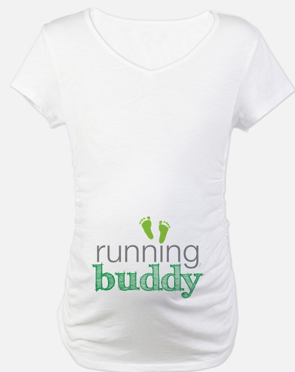 Running Buddy Green Shirt