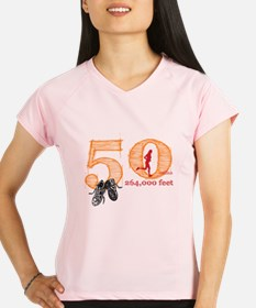 50 Mile Ladies Performance Dry T-Shirt
