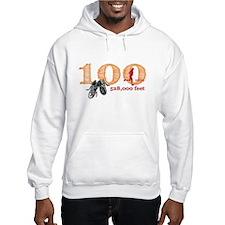 100 Mile Ladies Hooded Sweatshirt