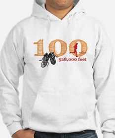 100 Mile Ladies Jumper Hoody