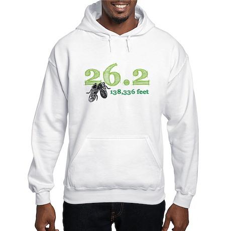 26.2 | 138,336 feet Hooded Sweatshirt
