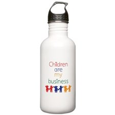 Children are my business Water Bottle