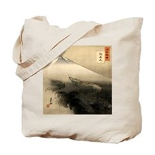 Dragon Rising Over Mountain Tote Bag