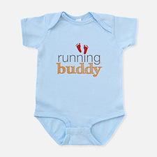 Running Buddy Orange Infant Bodysuit