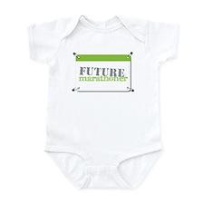 Future Marathoner Lime Infant Bodysuit