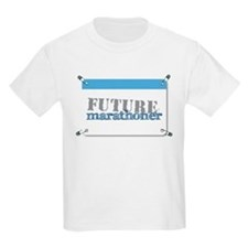 Future Marathoner Blue T-Shirt
