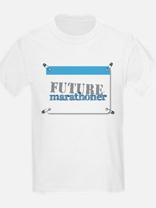 Future Marathoner Blue T-Shirt